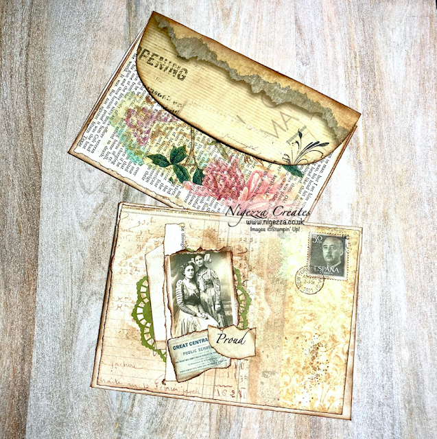 Quick Easy Vintage Envelopes For Your Junk Journal