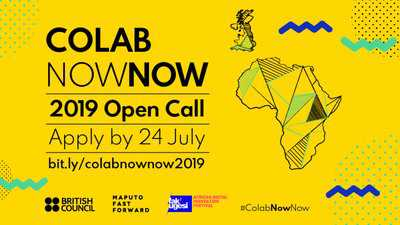British Council Southern Africa Arts ColabNowNow 2019 for