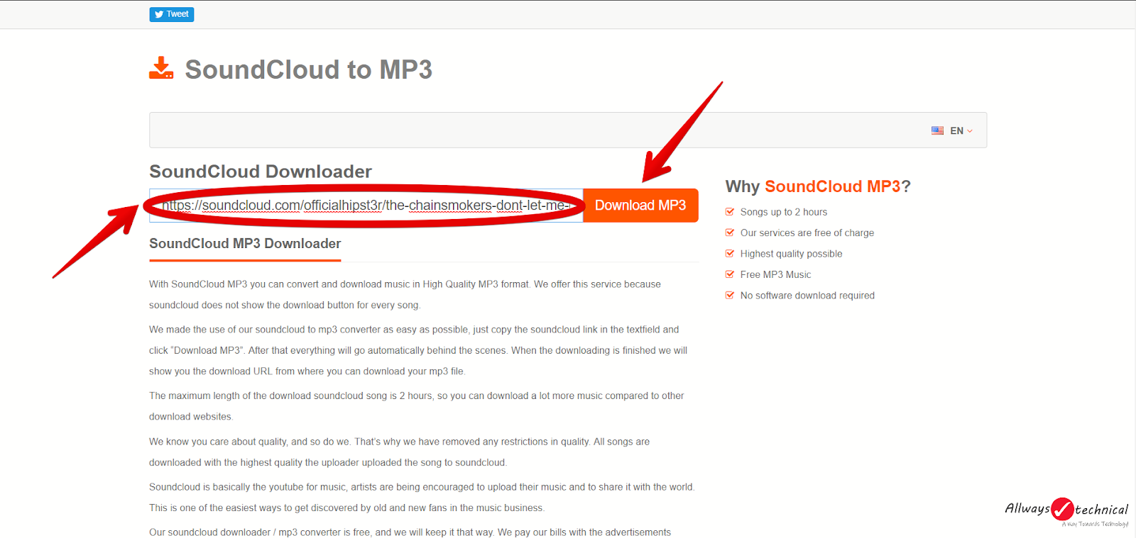 How to download songs from SoundCloud easily Step 6.