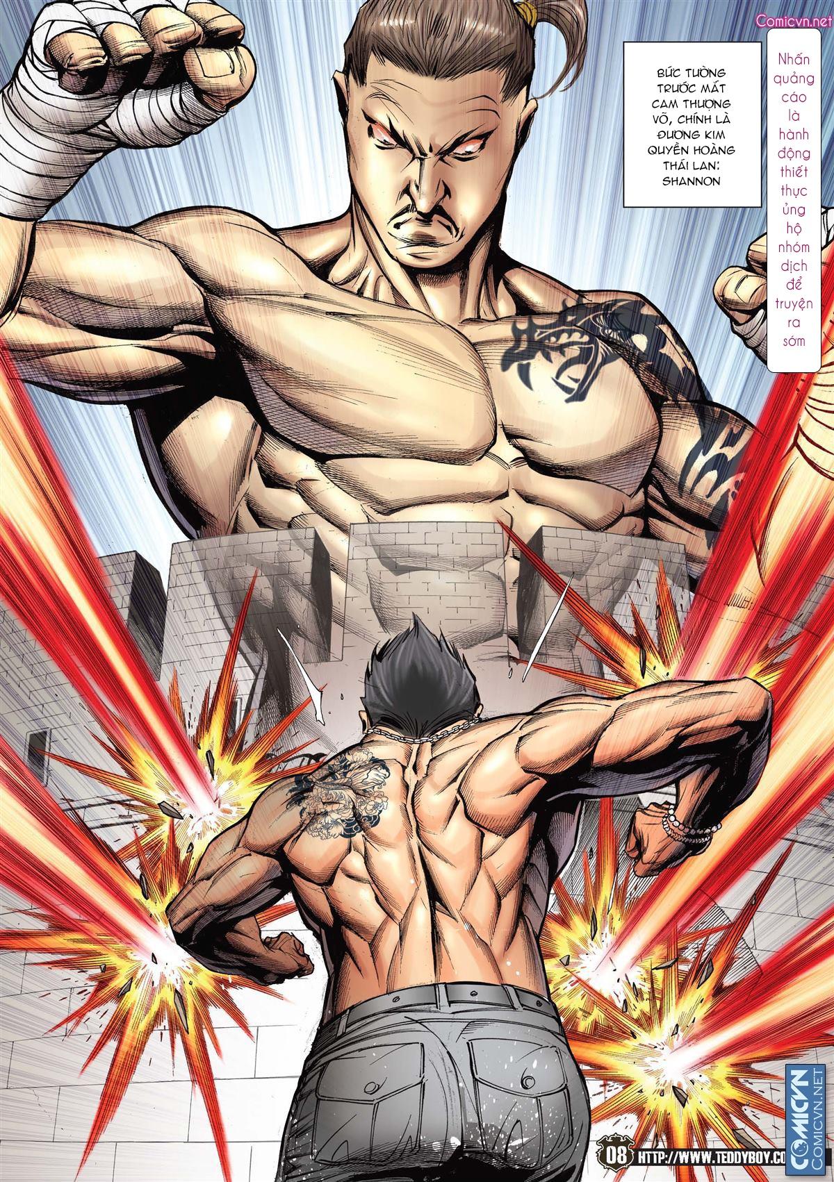 Người Trong Giang Hồ chapter 2143: ác chiến vua muay thai trang 6