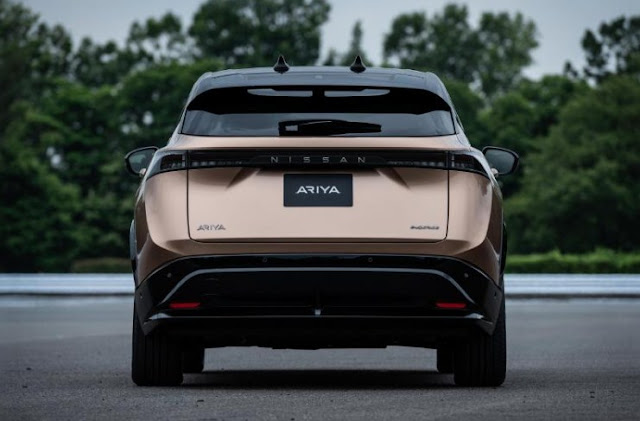nissan-ariya-rear-exterior-taillights-and-spoiler