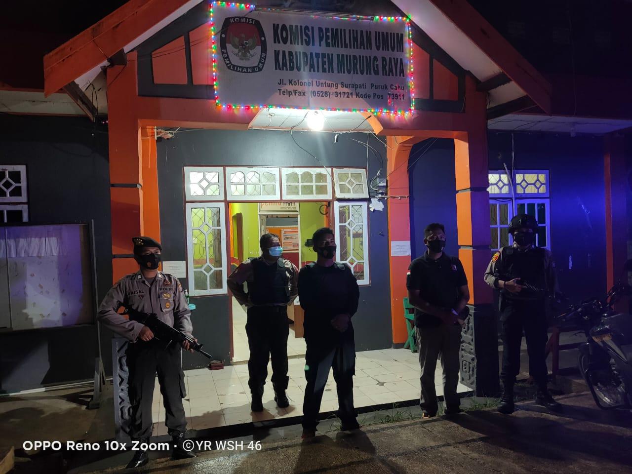 Patroli Malam Hari, Polsek Murung Harus Berikan Rasa Aman