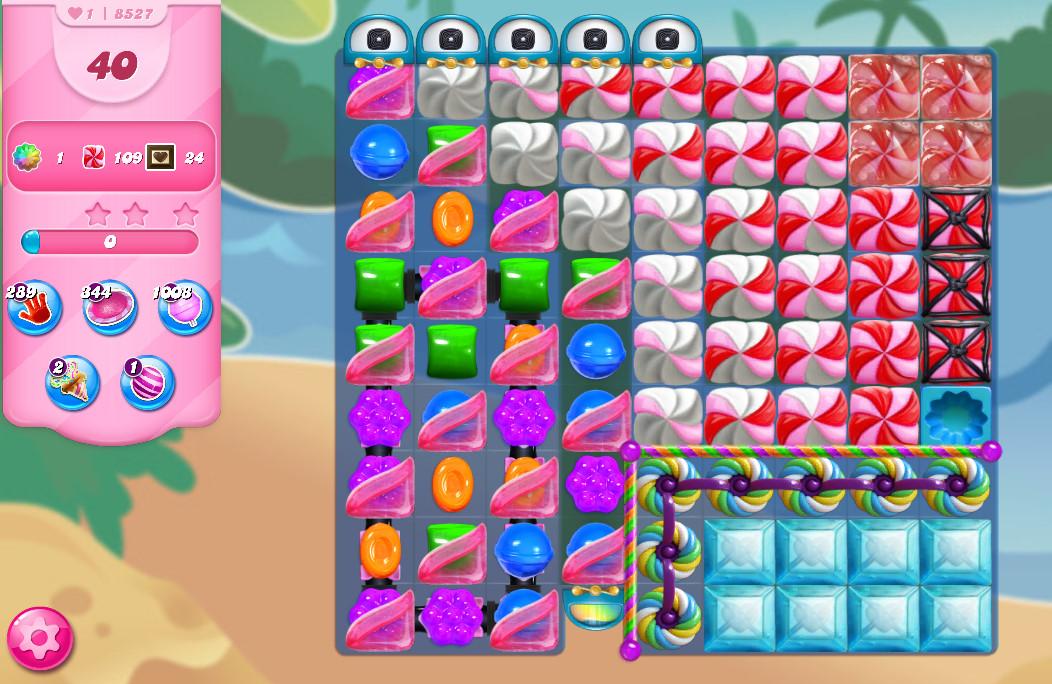 Candy Crush Saga level 8527