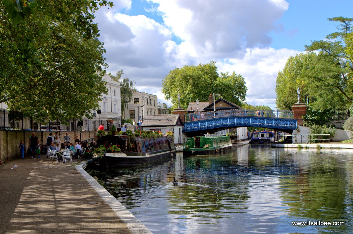 Waterside Cafe Little Venice London Warrick Avenue Paddington | Quick Guide To Little Venice In London| Canals, Boat Trips, Restaurants & Tours