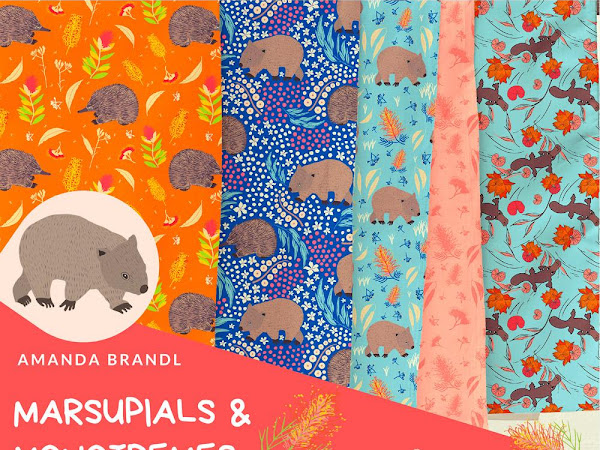 Marsupials and Monotremes Blog Tour + Matilda PDF Pattern (Two Block Wonder Quilt)