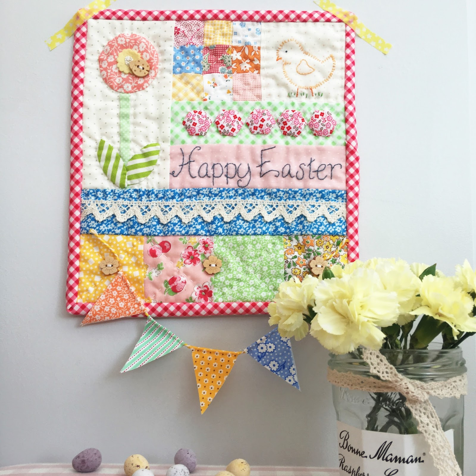 A Little Happy Place Happy Easter Mini Quilt