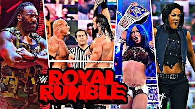 WWE Royal Rumble 2021  results, recap, grades: Edge, Bianca Belair emerge as winners on strong show.