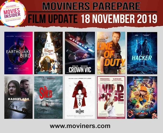 FILM UPDATE 18 NOVEMBER 2019