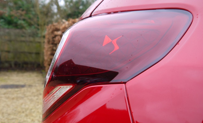 Citroen DS3 lamp details