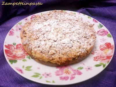 Sbriciolata di pandoro e crema pasticcera all'arancia - Torta con pandoro