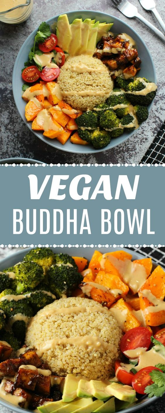 Super healthy and colorful vegan buddha bowl recipe, super simple, amazingly delicious and very satisfying plant-based dinner. Gluten-free.