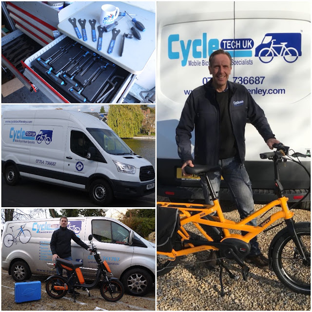starting your own mobile bicycle repair business