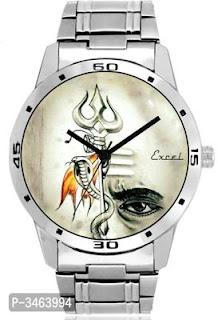 New Mahadev Metal Strap Men Watches