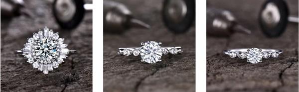 Anéis de Noivado e de Casamento BBBGEM