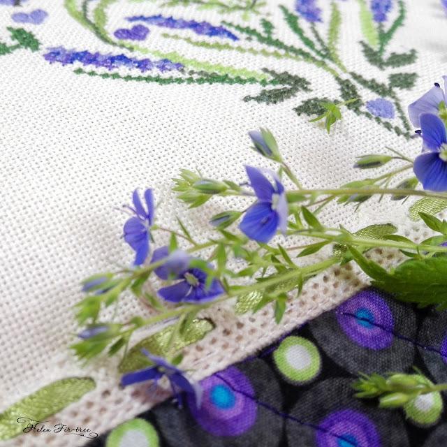 Helen Fir-tree lavender pillow лавандовая подушка