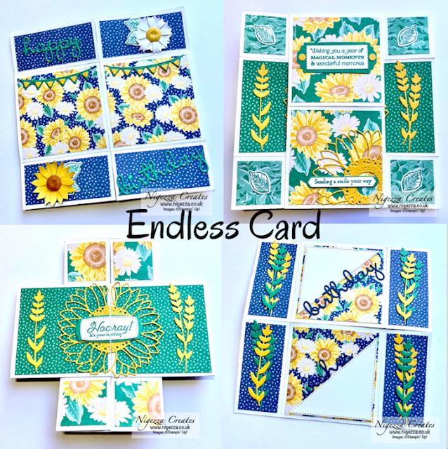 Sunflower Endless Card