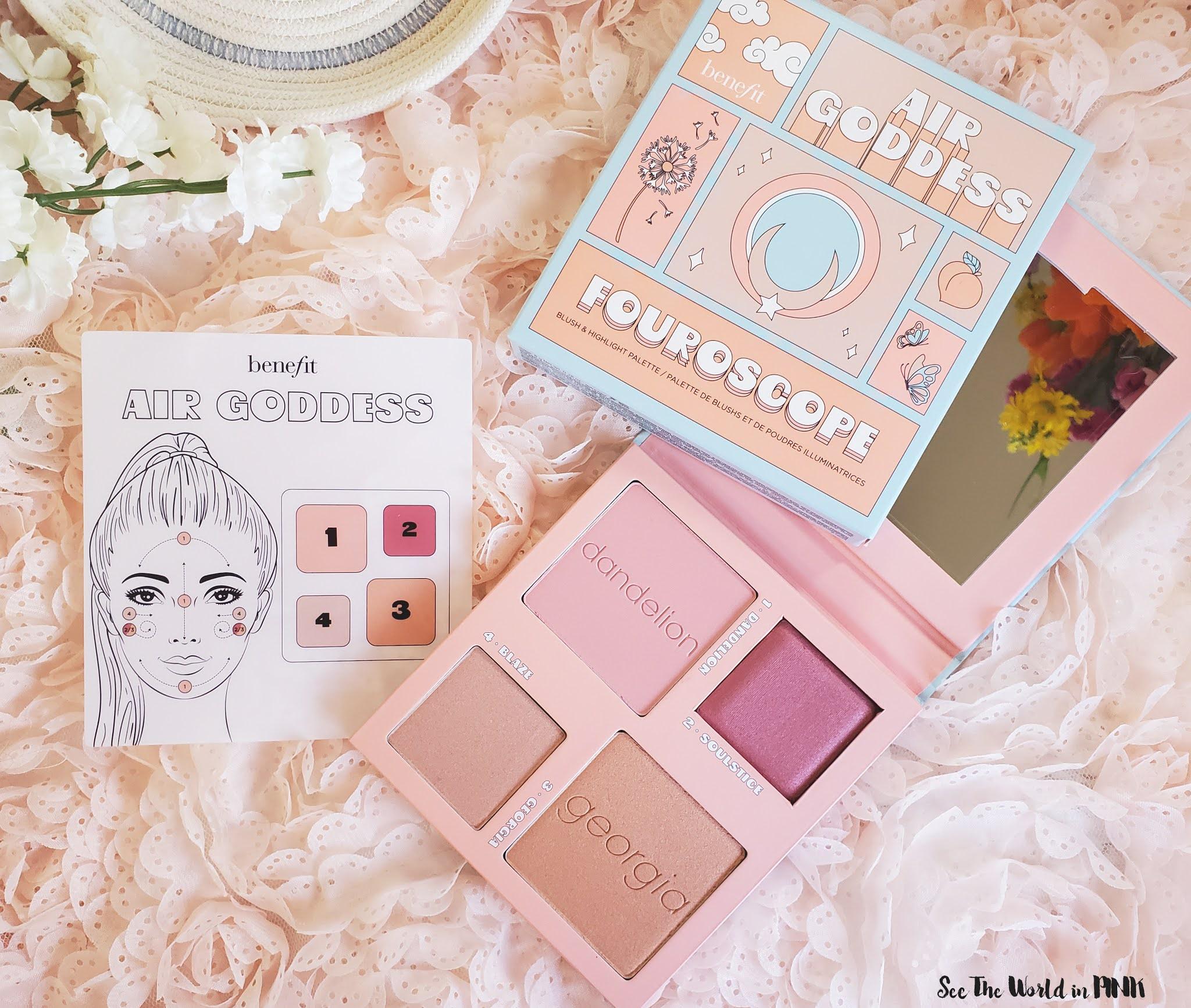 New Benefit Cosmetics Face Palette - Fouroscope Air Goddess Palette