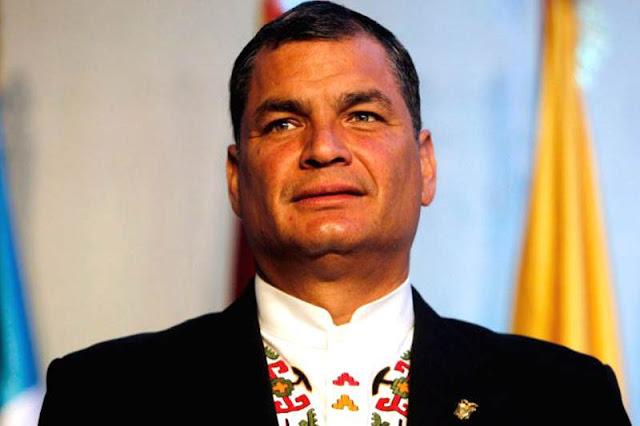 Rafael Correa tiene orden de captura y arresto en Ecuador pero no se entregará