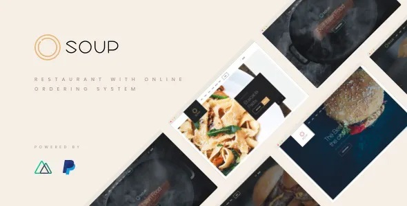 Best Restaurant with Online Ordering System Template