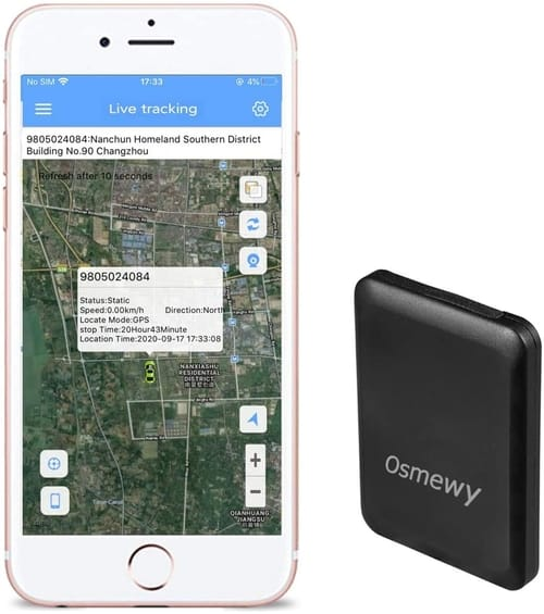 Review Osmewy Ultra-Thin Mini Kids GPS Tracker