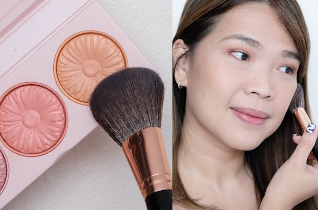 a photo of Clinique Cheek Pop On-The-Glow Trio Palette Review