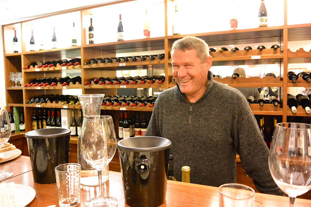 Gil Shatsberg, Recanati's chief winemaker. Recanati Tasting Room. Photo by Nicole Ruiz Hudson