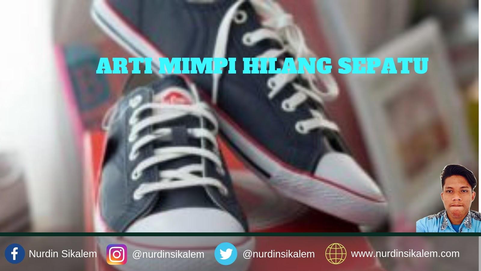 Hilang sepatu