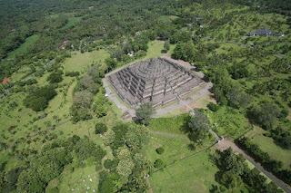 borobudur temple map