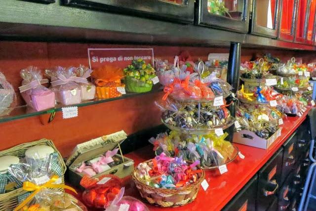 Rome in January: La Bottega del Cioccolato chocolate shop