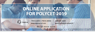 Polycet AP 2019 Exam Notification AP Polytechnic Common Entrance Test Application Form for Diploma Courses Hall Ticket
