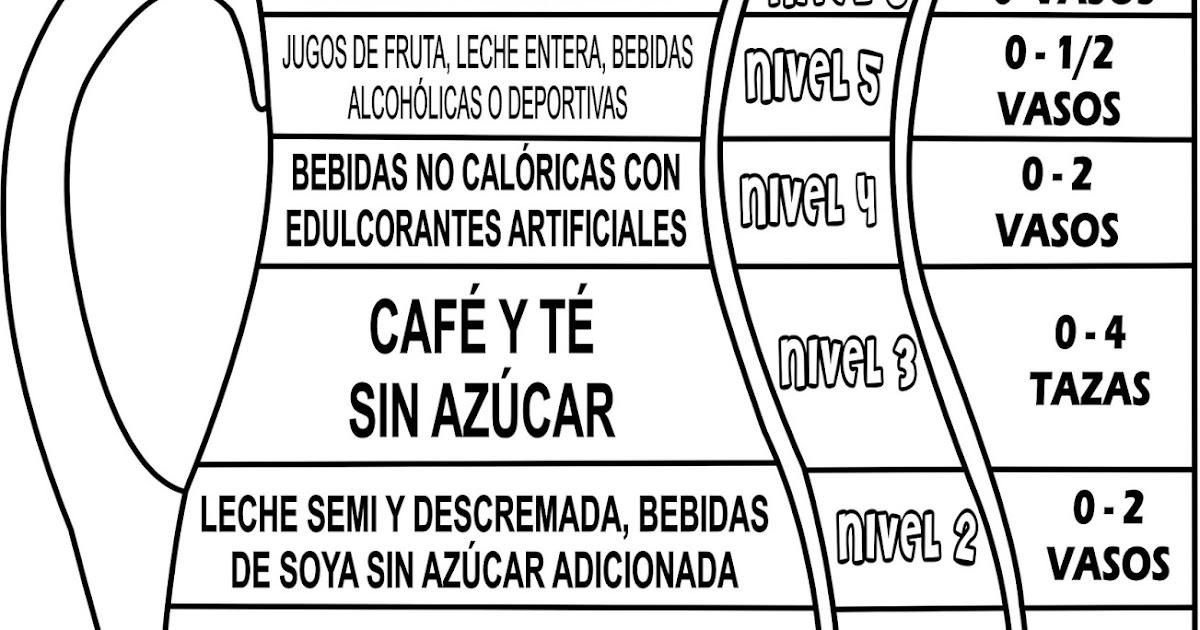 Jarra Del Buen Beber Para Colorear Geograficinfo