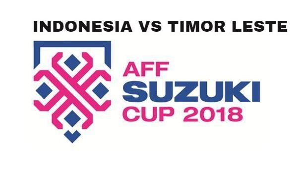 Jadwal Indonesia vs Timor Leste - Piala AFF 2018 Siaran Langsung RCTI