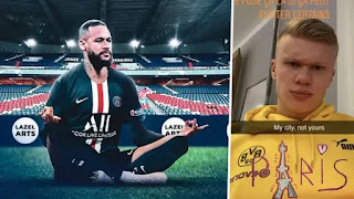 Marquinhos: Neymar planned mocking of Haaland after PSG-Dortmund tie in advance