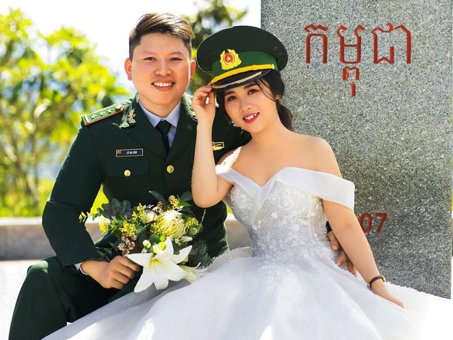 Chiến sĩ biên phòng 2 lần hoãn cưới để chống dịch