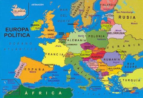 Eropa Timur Gambar Peta Benua Eropa Nama Nama Negara Di Benua Eropa Beserta Ibukotanya