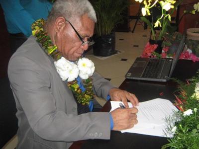 ULMWP: Selamat Perdana Menteri Baru Vanuatu, Bob Loughman