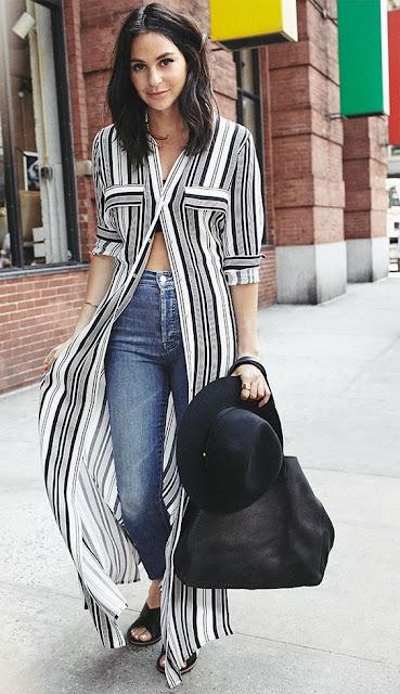 Camisa vestido, uma tendência desta primavera-verão 2016