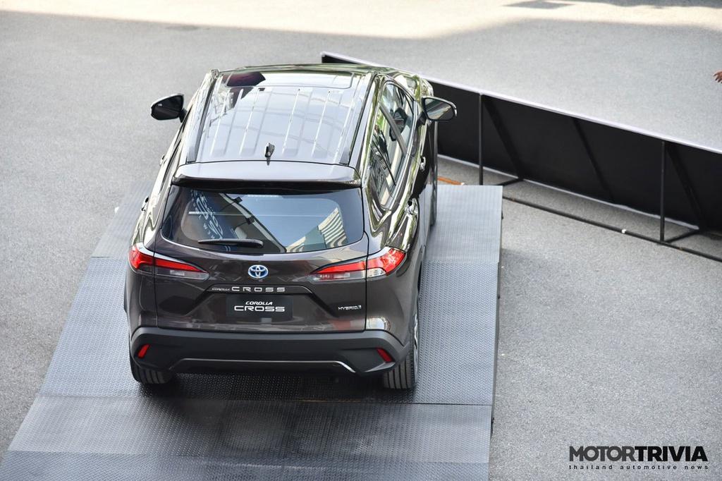 Ảnh thực tế Toyota Corolla Cross vừa ra mắt tại Thái Lan