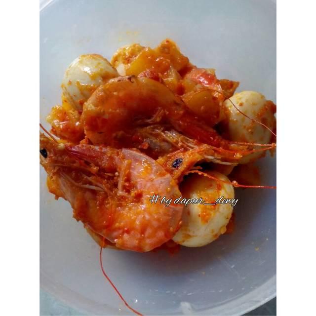 Resep balado udang,kentang dan telur puyuh ala rumah makan ciwidey