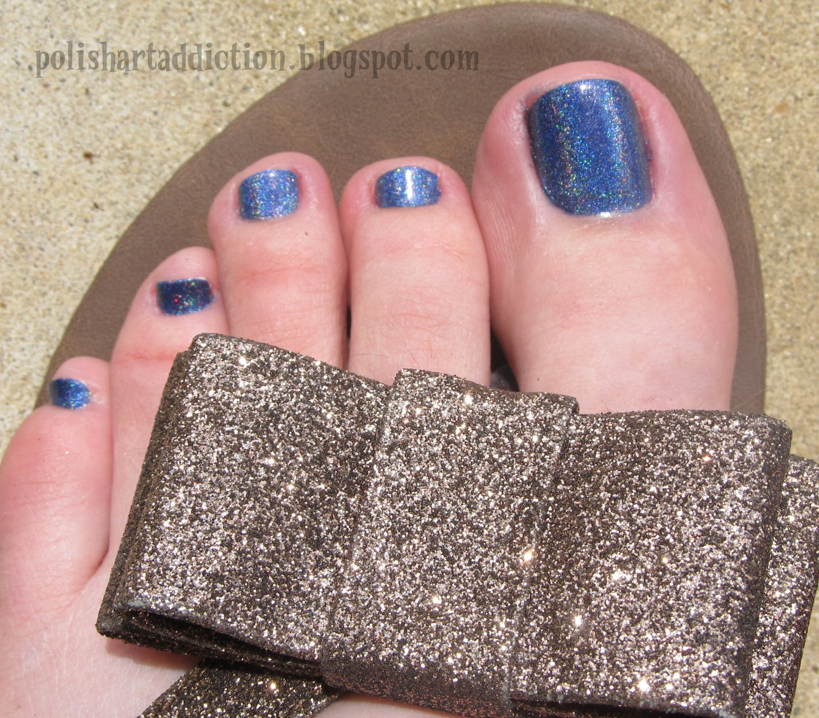 OPI DS Glamour Toes