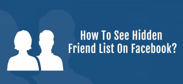 See Friends On Facebook That Are Hidden
