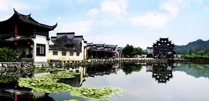 หมู่บ้านซีตี้ (Xidi Village)