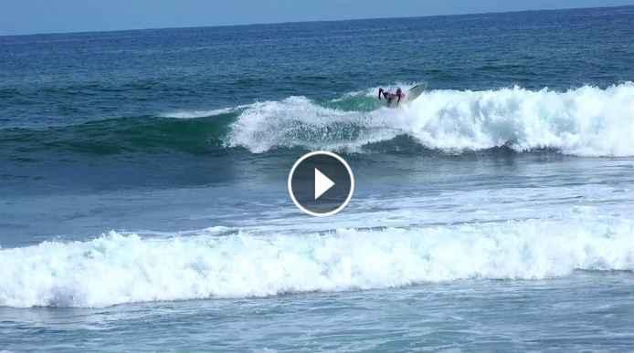 yon sampedro - few waves El Salvador