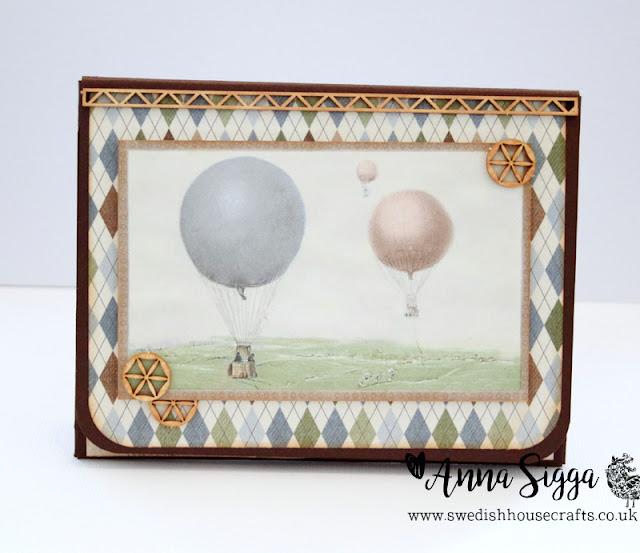 Wallet mini-album using Pion Design & Laserowe   by Anna Sigga