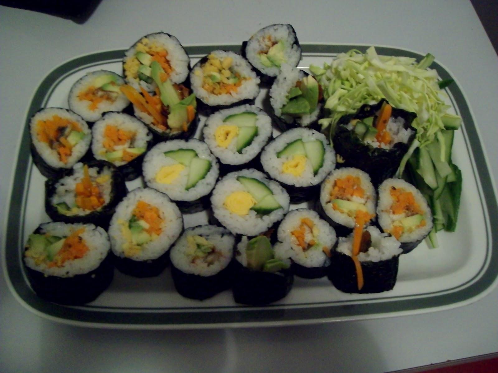 itadakimasu guten appetit spontanes sushi. Black Bedroom Furniture Sets. Home Design Ideas