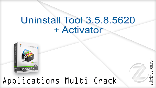 Uninstall Tool 3.5.8.5620 + Activator  |  4.19 MB