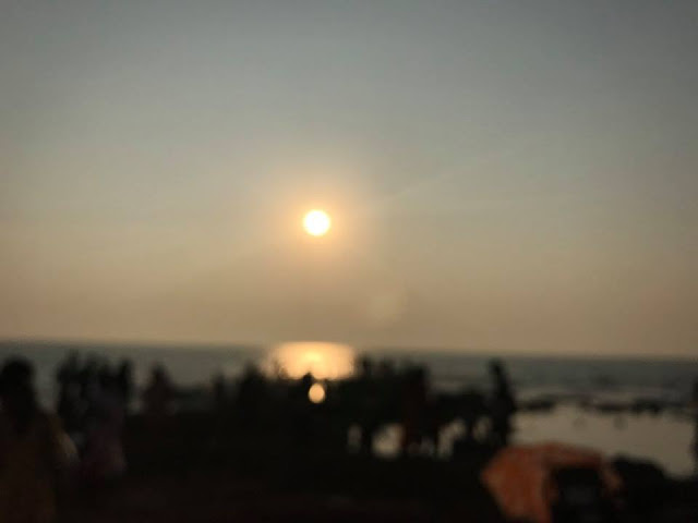 Ozran Beach in Goa