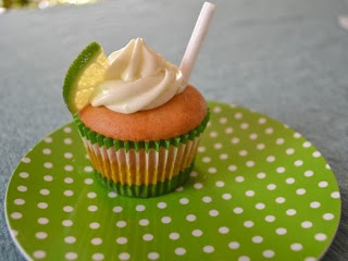 Mojito Cupcakes Using Cake Mix