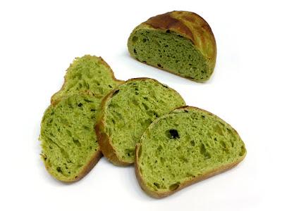 抹茶と柚子のパン | MAISON KAYSER(メゾンカイザー)