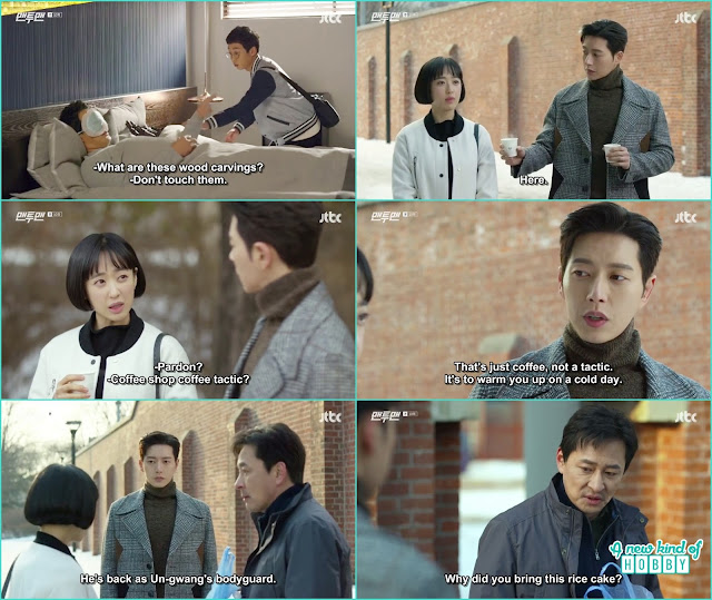seol woo with do ha go to take do ha father from the prison - Man To Man: Episode 10 korean drama